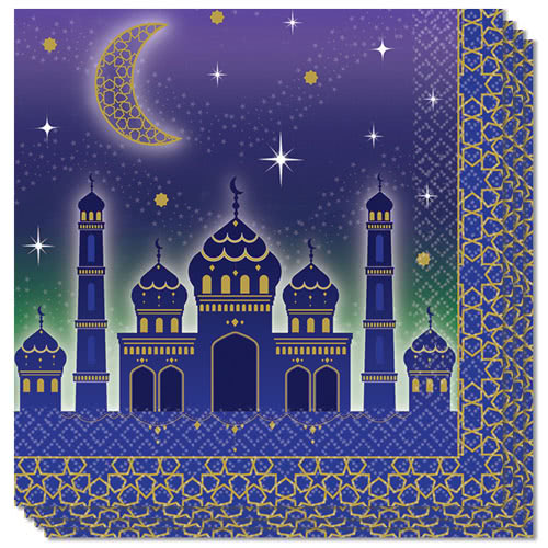 Eid Luncheon Napkins 33cm 2Ply - Pack of 16
