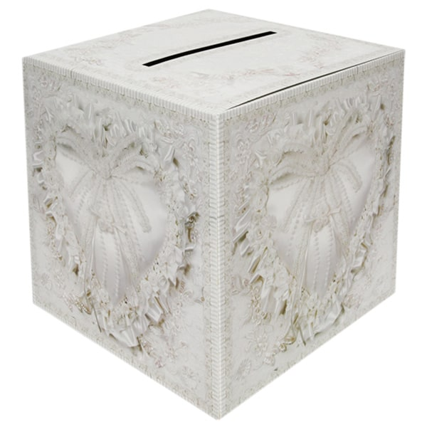 Elegant Design Wedding Card Box - 12 Inches / 30cm Product Image