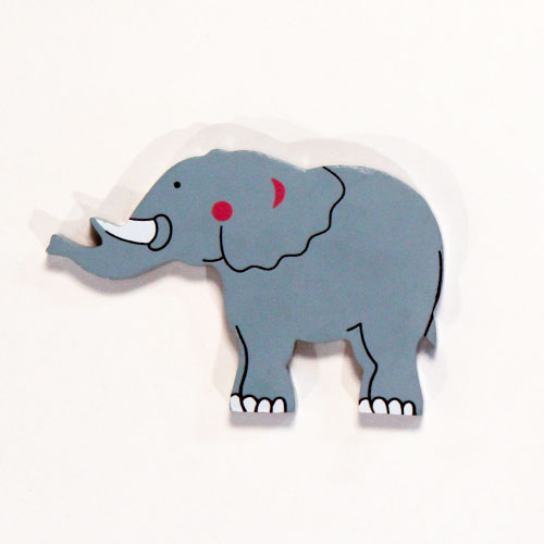 Elephant Wooden Magnetic Toy Product Image