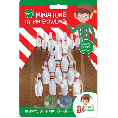 Elf Mini Bowling Set Christmas Game Product Image