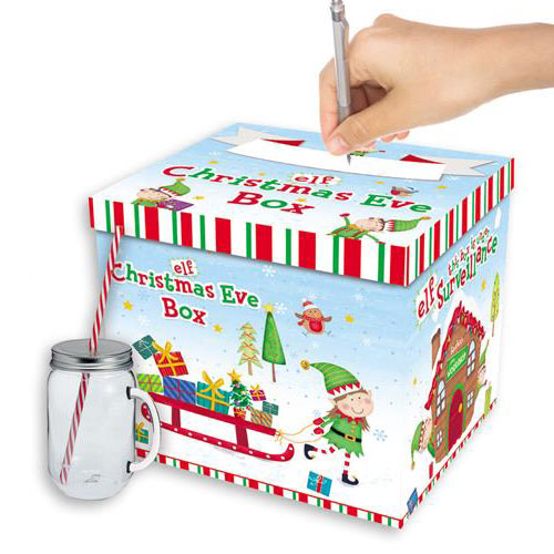 Elf Christmas Eve Box 28cm