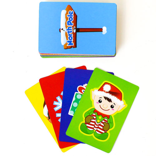 Elf Christmas Deluxe Jumbo Snap Card Game Product Image
