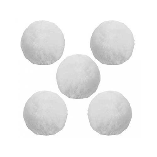 Christmas Crunchy Indoor Snowballs - Pack of 5 Product Image