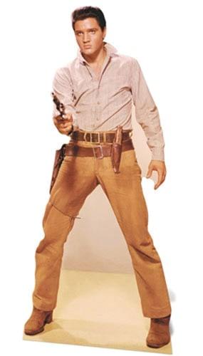 Elvis Gunfight Lifesize Cardboard Cutout - 189cm Product Image
