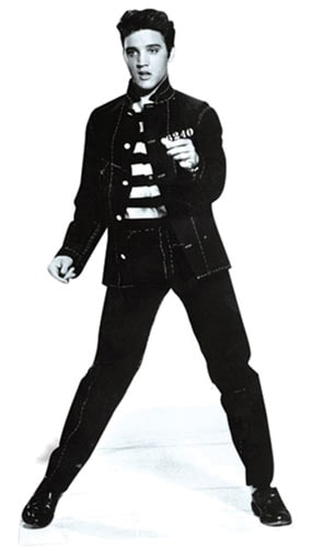 Elvis Jailhouse Rocks Lifesize Cardboard Cutout - 179cm Product Image
