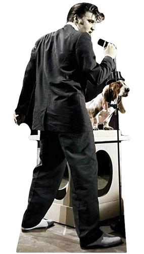 Elvis Presley Hound Dog Lifesize Cardboard Cutout - 180cm Product Image