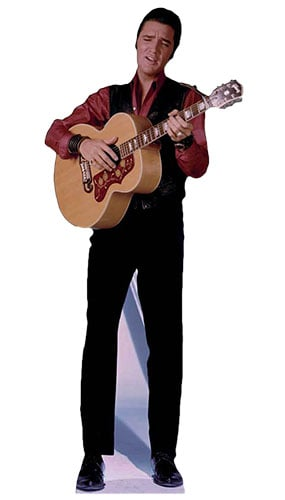 Elvis Presley Singing Lifesize Cardboard Cutout - 182cm Product Gallery Image