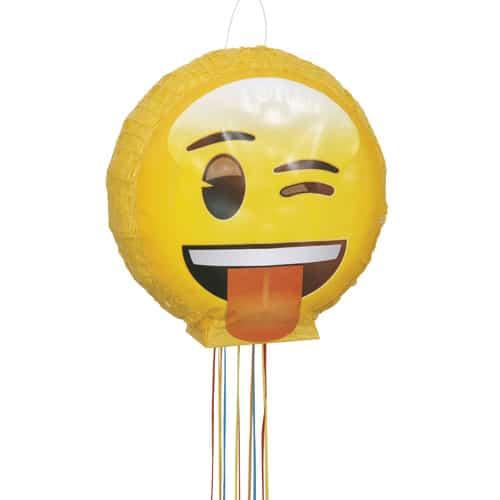 Emoji 3D Pull String Pinata Product Image
