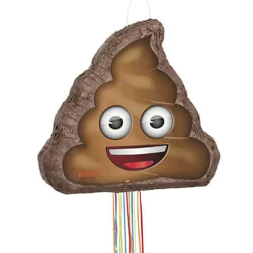 Emoji Poop Pull String Pinata Product Image
