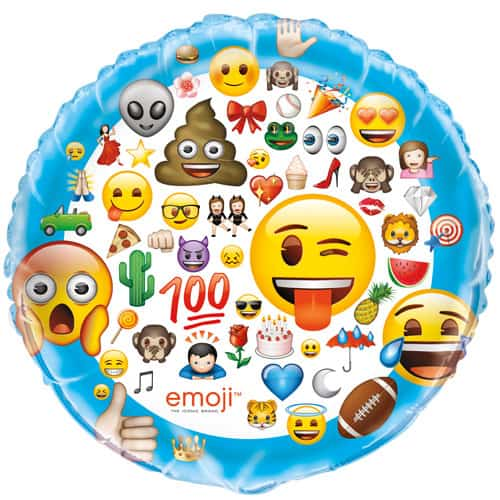 Emoji Helium Foil Giant Balloon 86cm / 34 in Product Image