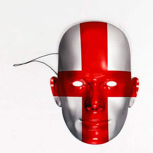 England Flag Face Mask Product Image