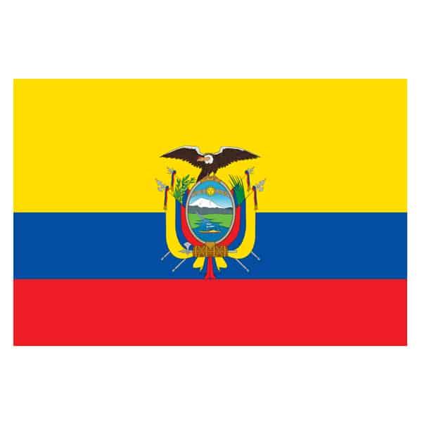 Ecuador Flag - 5 x 3 Ft Product Image