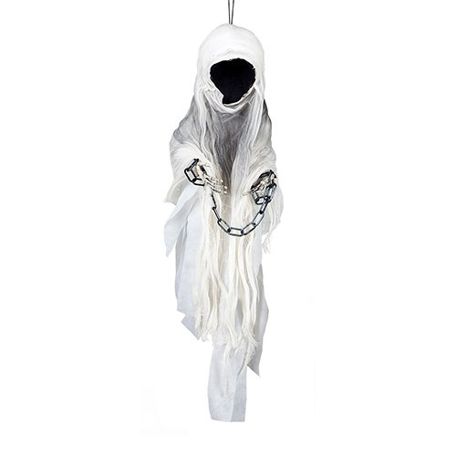 Faceless Ghost Halloween Hanging Prop Decoration 90cm Product Image