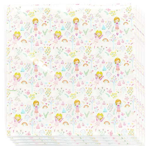 Fairy Princess Luncheon Napkins 33cm 2Ply - Pack of 16 Product Image