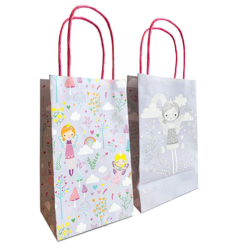 Fairy Princess Paper Colour In Party Bags - Pack of 8