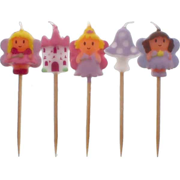 Fairytales Party Candles - Pack of 5 Product Image