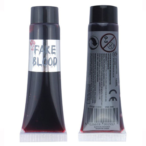 Fake Blood Tube 16ml / 0.56 oz