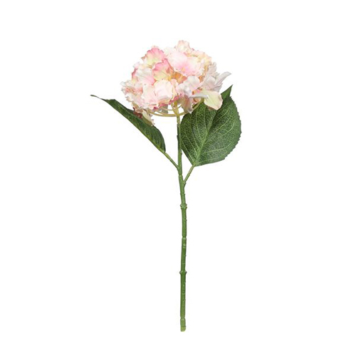 Fantasia Hydrangea Pick Pink Artificial Silk Flower 36cm Product Image