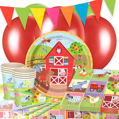 Farm Friends 16 Person Deluxe Party Pack Product Image