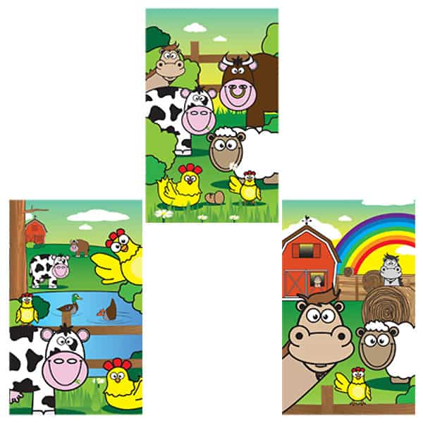 Assorted Mini Farm Notebook Product Image