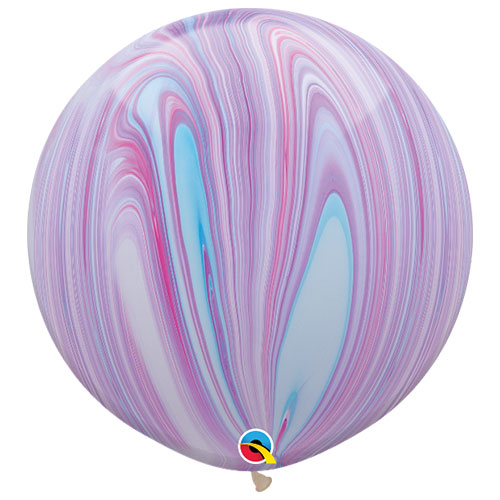 Fashion Superagate Biodegradable Jumbo Latex Qualatex Balloons 76cm / 30 in - Pack of 2 Product Image