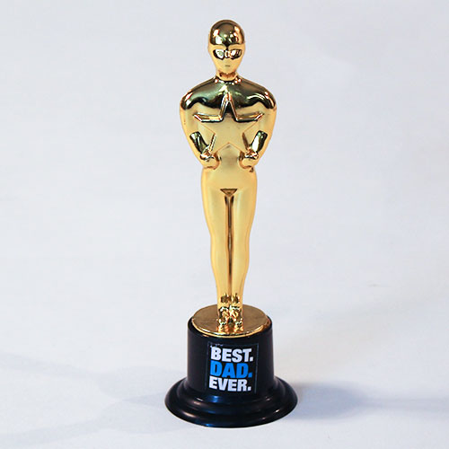 Father's Day Best Dad Ever Trophy 15cm