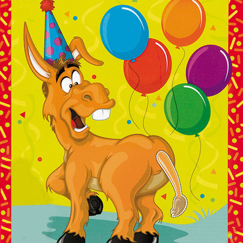 Festive Donkey Deluxe Party Game Product Image