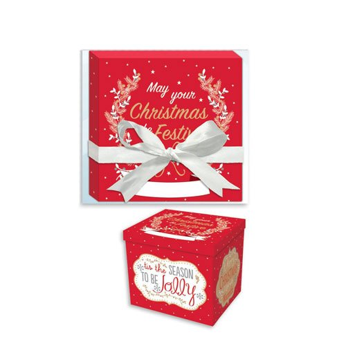Festive Season Christmas Eve Box 28cm