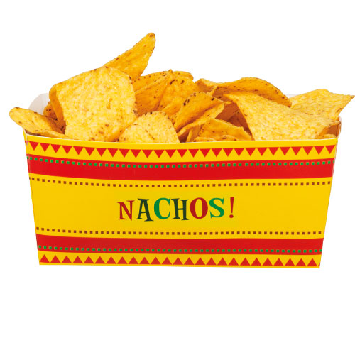 Fiesta Nacho Paper Bowls - Pack of 4