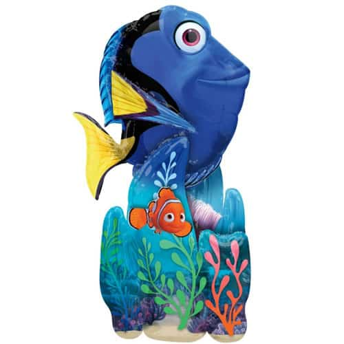 Finding Dory Airwalker Foil Helium Balloon 139cm / 55 Inch Product Image