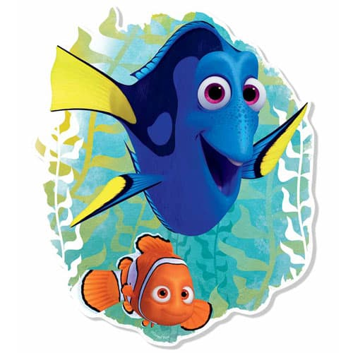 Finding Dory with Nemo Wall Art - 87cm