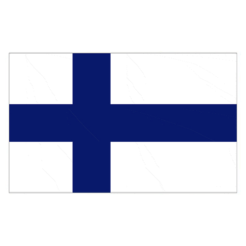 Finland Flag - 5 x 3 Ft