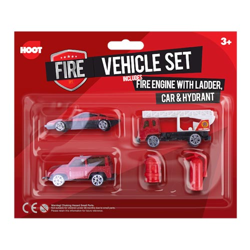 Fire Vehicles Toys Playset