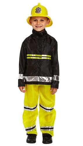 Fireman Children Fancy Dress Costume 7-9 Years - Medium Product Image