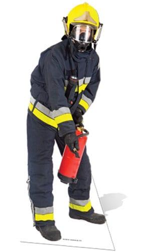 Fireman Lifesize Cardboard Cutout - 183cm Product Image