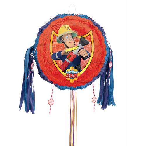 Fireman Sam Pull String Pinata Product Image