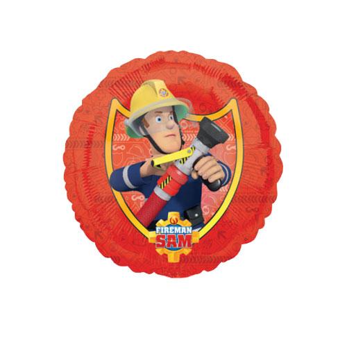 Fireman Sam Round Foil Helium Balloon 43cm / 17Inch Product Image