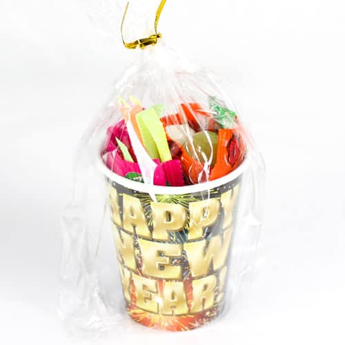 Fireworks New Year Candy Cup