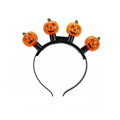 Flashing Pumpkin Halloween Headband Product Image