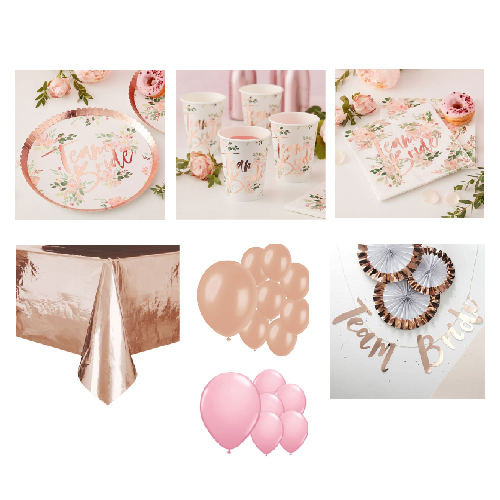 Floral Hen Party 16 Person Deluxe Party Pack