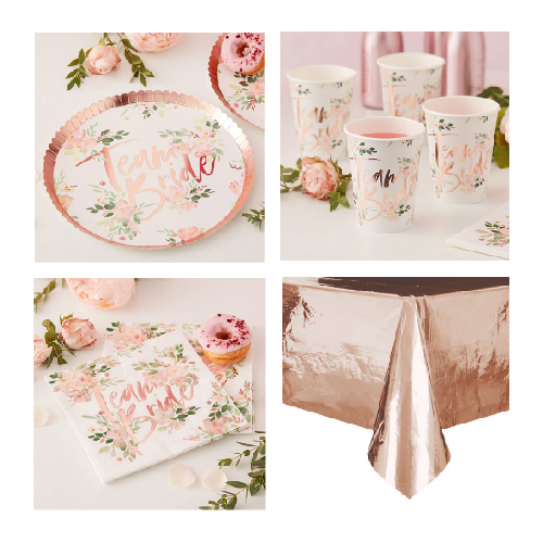 Floral Hen Party 8 Person Value Party Pack