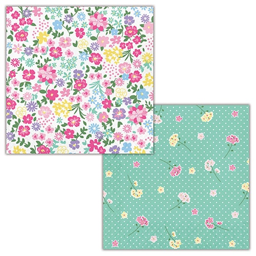 Floral Tea Party Luncheon Napkins 33cm 2Ply - Pack of 16 Bundle Product Image