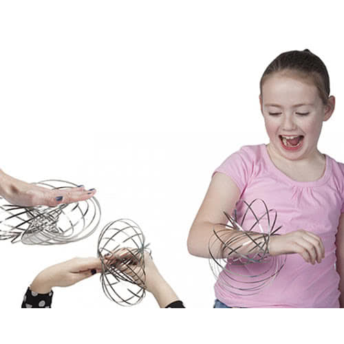 Flowringz Magical Stainless Steel Kinetic Toy 13cm Product Image