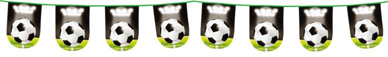 Football Ball Plastic Bunting 6m Product Image