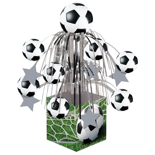 Football Cascade Centrepiece Table Decoration 32cm
