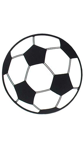 Football Decorative Cutout - 13 Inches / 34cm Product Image