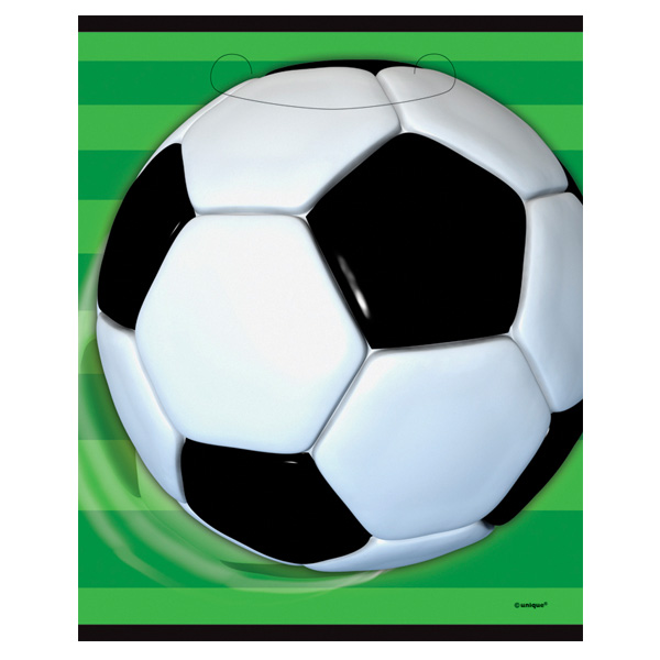 Football Loot Bags - Pack of 8 Product Image