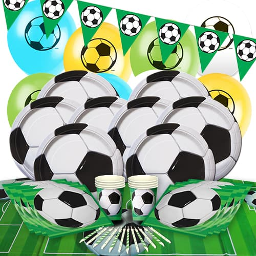 Football 8 Person Delux Party Pack