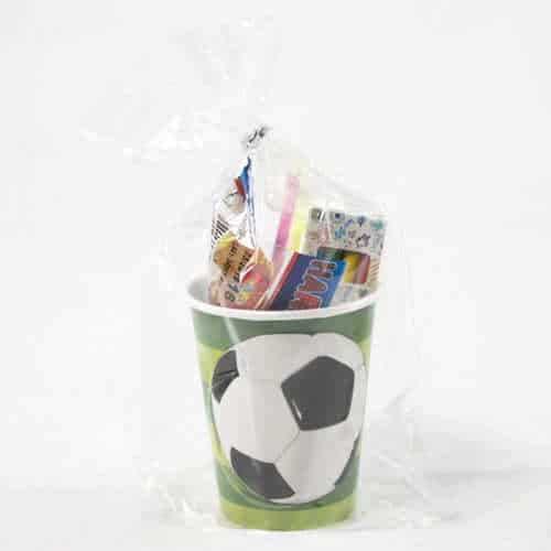 Football Toy And Candy Cup
