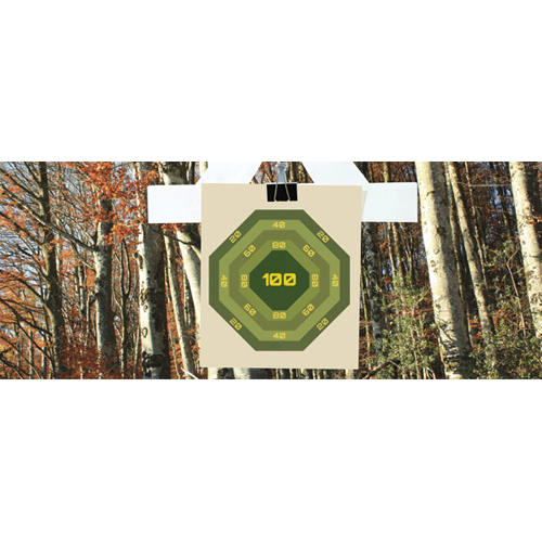 Forest Nurf Target PVC Party Sign Decoration 60cm x 25cm Product Image